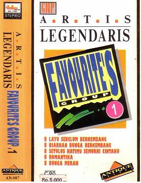 LEGENDARIS 1-FAVOURITES GROUP