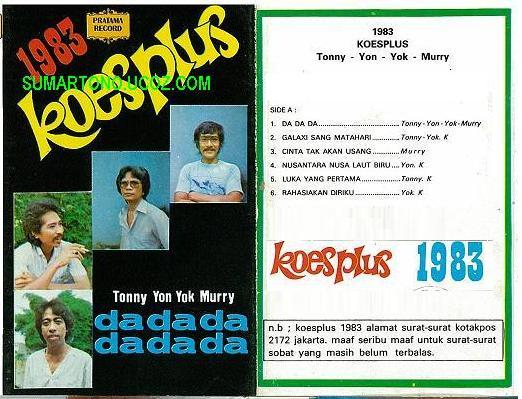 KOES PLUS 1983 - 25 November 2011 - pelestari musik kenangan tempo