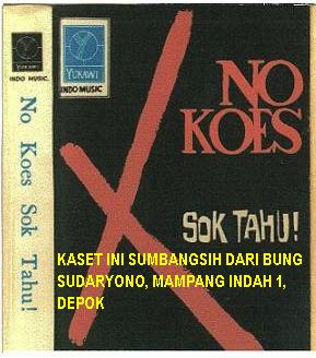 NO KOES VOL 1